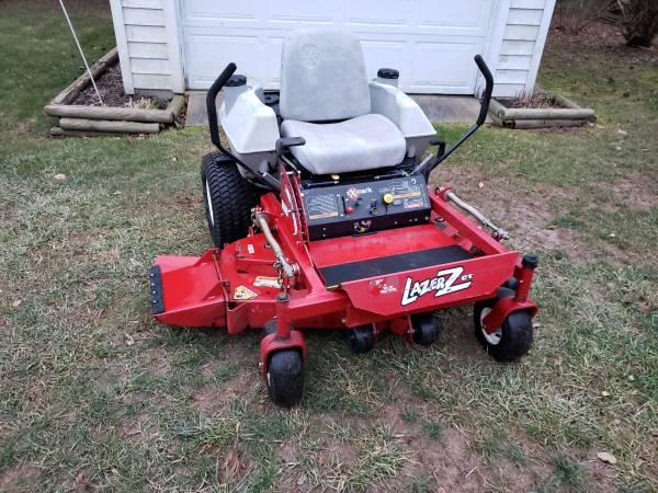 Photo 48 eXmark Lazer Z CT commercial grade zero turn lawn mower - $2600 (Jackson)