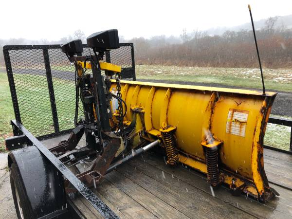 Photo Fisher 8 Ft Snow Plow - PLOW SIDE ONLY - $550