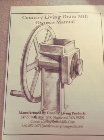Photo Grain Mill - Hand Crank NEW IN BOX - $375 (Battle Creek)