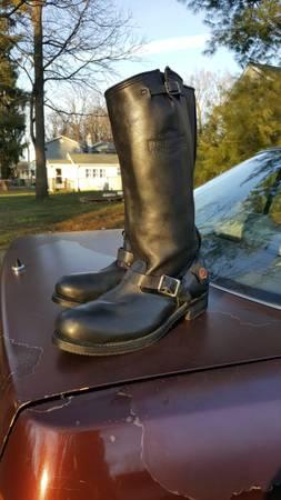 Photo Mens size 12 Harley Davidson Riding Boots - $60
