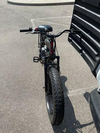 Photo Motorized fat tire bike$700 obo - $700 (Comstock)