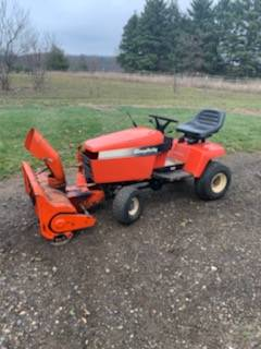 Photo Simplicity Garden Tractor- Sold - $700 (Nashville)