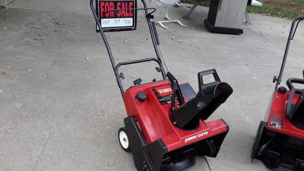 Photo Snow blowers - $225 (Battle Creek)