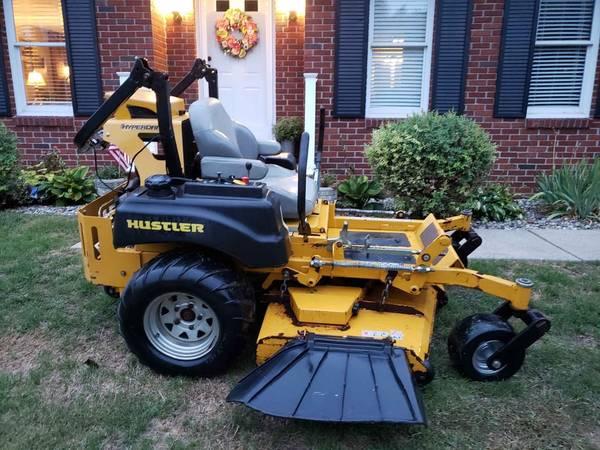 Photo Super Z Hyperdrive Hustler zero turn commercial lawn mower, very fast - $5,300 (Jackson)
