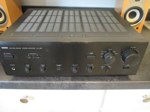 Photo YAMAHA AX-450 INTEGRATED AMP - $179 (G.R.N.E.)