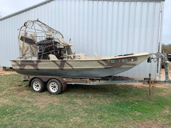 Photo 1839 Air Boat - $14000 (Seguin)