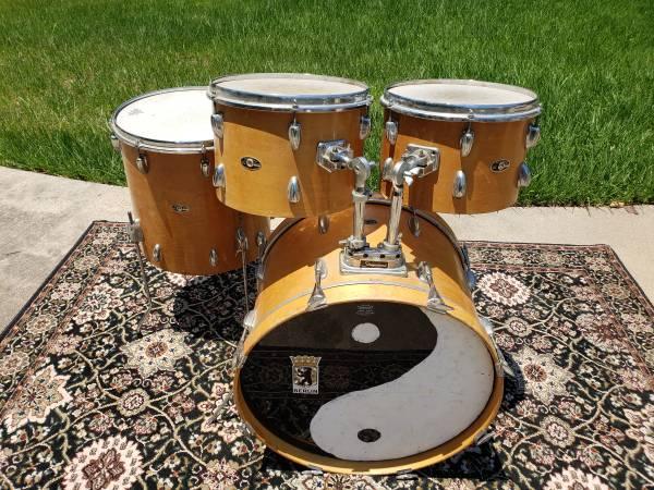 Photo 198039s Slingerland Spirit 4 Piece Drum Shell Pack - $220 (Magnolia)