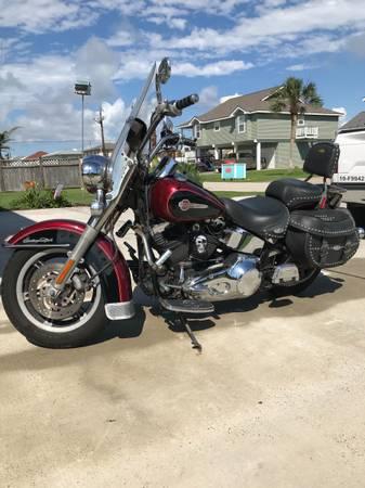 Photo 2002 Harley Davidson Heritage Softail - $5,500 (Galveston)