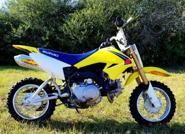 Photo 2008 Suzuki DRZ 70 Electric and Kick Start -Title - $1,500 (Waller)