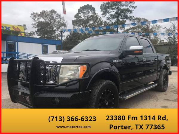 Photo 2010 Ford F150 SuperCrew Cab - Financing Available - $18995