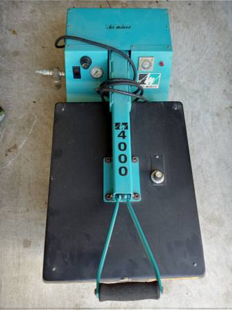 Photo AIRWAVES 4000 HEAT PRESS T-SHIRT MACHINE - $450 (WEST HOUSTON)