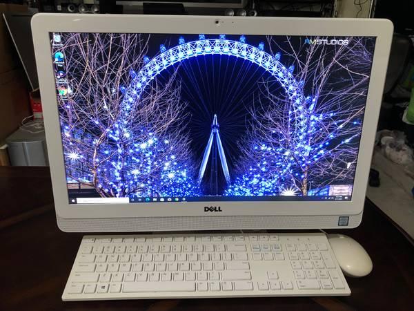 Photo DELL Inspiron 21.5quot All-In-One Desktop PC (Intel i3 7th gen8GB1TB) - $320 (HOUSTON)