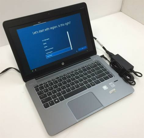 Photo EXCELLENT CONDITION HP FOLIO 1040 G1 CORE I5 TOUCHSCREEN LAPTOP - $285 (SW HOUSTONKATY)