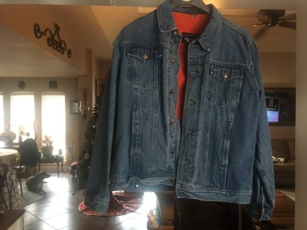 Photo Harley Davidson denim jacket - $50 (Bridge city)