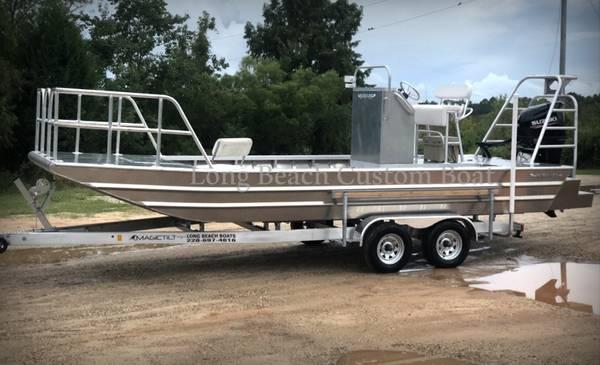 Photo Heavy duty custom built aluminum boats quotLong Beach Custom Boatsquot