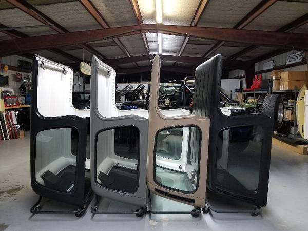 Photo Jeep CJ  Wrangler hardtops  huge holiday inventory sell-off (Houston TX)