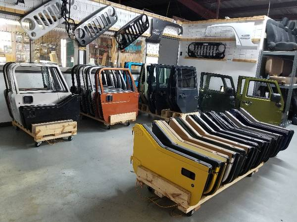 Photo Jeep doors, zip windows  huge holiday inventory sell-off (Houston TX)