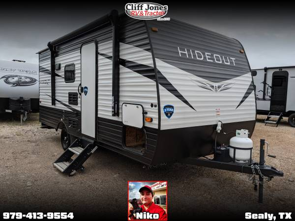 Photo Pre-Owned 2021 Dutchmen Hideout 175BH Bunkhouse Travel Trailer - $17,995 (Sealy)