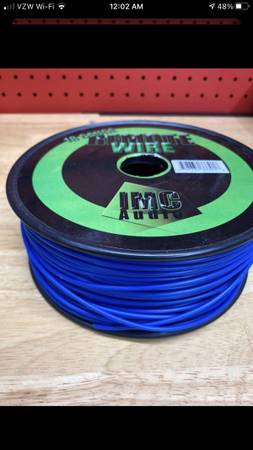 Photo Roll of remote wire for car audio 18 gauge kicker Memphis jl audio  (Galleria River Oaks)