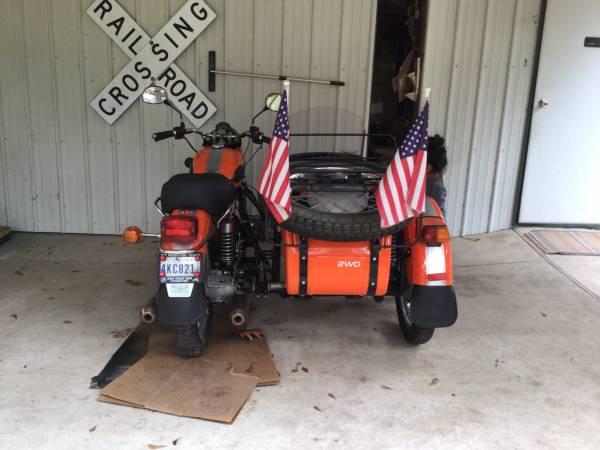 Photo Ural Patrol Motorcycle - $6,500 (Dayton)