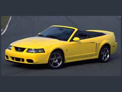 Photo Used 2003 Ford Mustang Cobra Convertible for sale