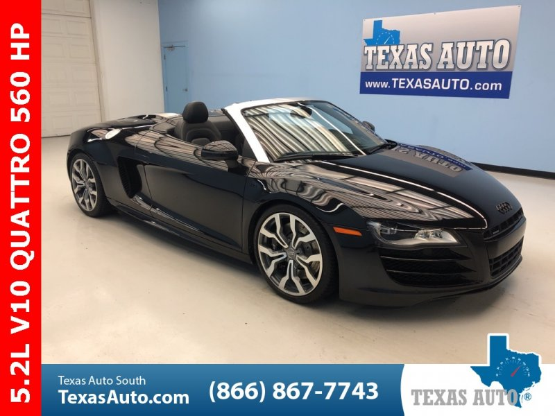 Photo Used 2012 Audi R8 5.2 Spyder for sale