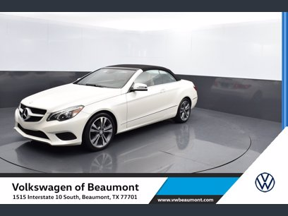 Photo Used 2017 Mercedes-Benz E 400 Cabriolet for sale