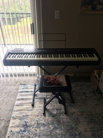 Photo Williams Allegro Digital Piano with extras - $250 (Houston)
