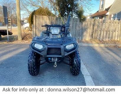 Photo powerful2013 Polaris Sportsman 850 HO 4x4 ATV - $2,000 (Beaumont)