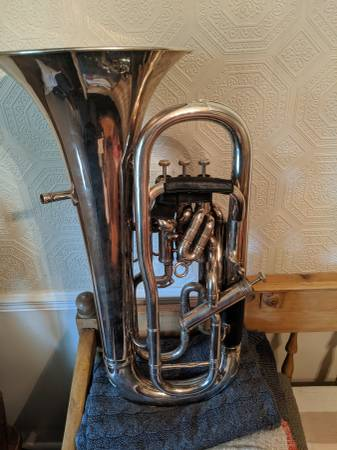 Photo 1982 Boosey  Hawkes Imperial Besson Euphonium - $3250 (Pleasant Grove)