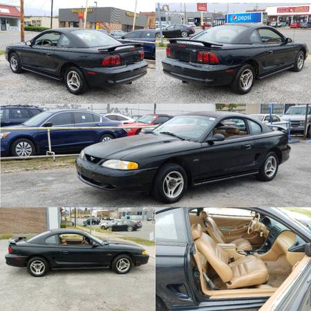 Photo 1998 Ford Mustang GT V8 4.6L 207k Miles No Issues - $3,400 (Bessemer)