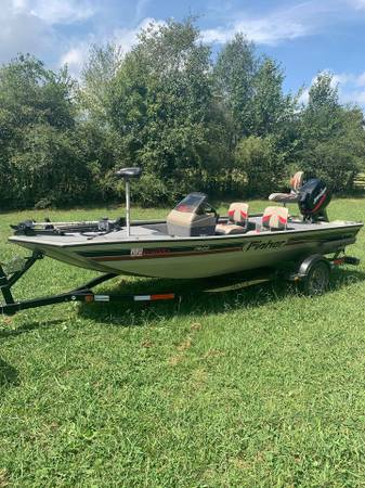 Photo 2002 Fisher Bass Boat - $7,000 (Bessemer)
