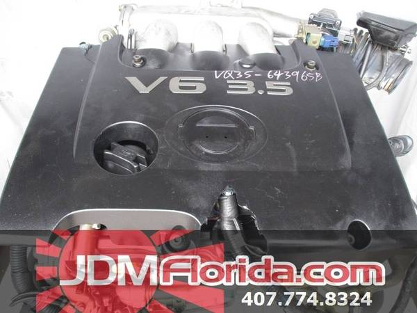 Photo 2003 - 2007 JDM NISSAN MURANO  QUEST MAXIMA 3.5L JAPANESE ENGINE - $999 (JDM FLORIDA)