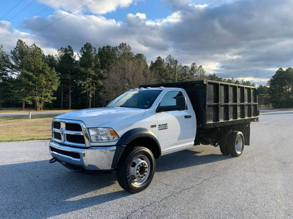 Photo 2016 Dodge Ram 5500 Dump Truck - $32500 (Greenwood SC)