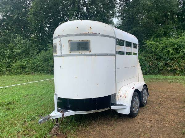 Photo 2 horse bumper pull horse trailer - $2,300 (Chickamauga)