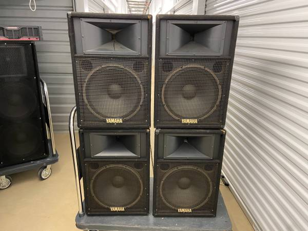 Photo 4 Yamaha S115IV 15-inch PA speakers - $785 (Montgomery)