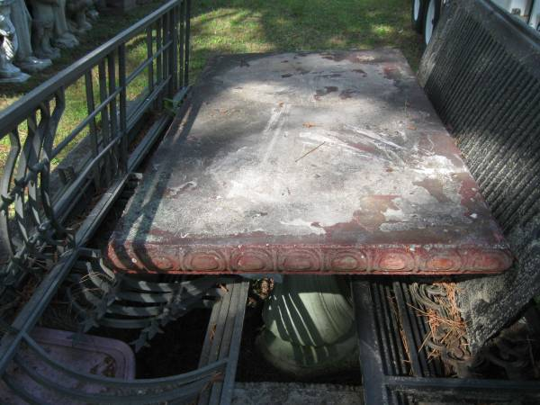Photo 603939 Rectangler Concrete Table - $95 (Jasper,Al.)