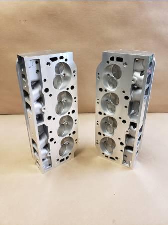 Photo BBC aluminum rectangle port heads - $950 (Pinson)
