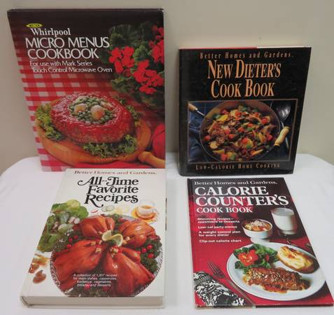 Photo Better Homes and Gardens Cookbooks ( 4 books) - $10 (Trussville)