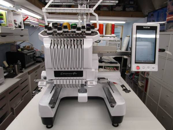 Photo Brother 10 Needle Embroidery Machine - $6500 (CULLMAN)