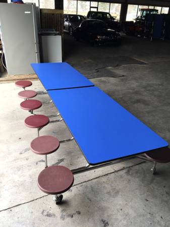 Photo Cafeteria Lunchroom Tables - $125 (Athens)