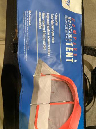 Photo Cing gear tent Ice Mule Cooler Yakima roof rack other - $35 (Birmingham-North Shelby-280)