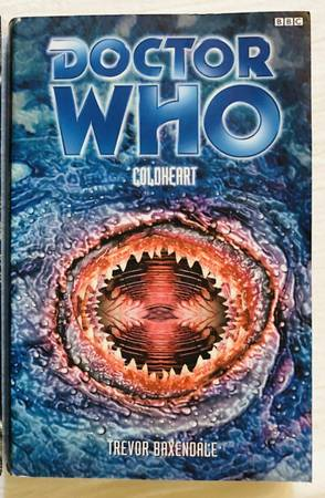 Photo Doctor Who COLDHEART Paperback Book by Trevor Baxendale - $8 (Madison)