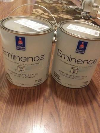 Photo Flat Ceiling Paint Eminence by Sherwin Williams - $25 (Birmingham)