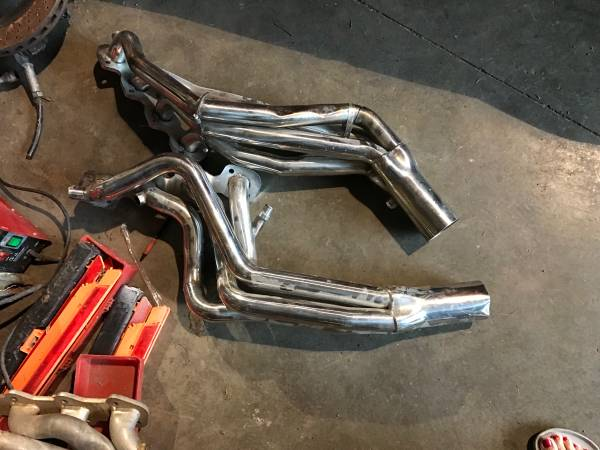 Photo Ford 4 valve mustang 4.6 dohc longtube headers 96-04 cobra Mach 1 one - $300 (Talladega, Al)