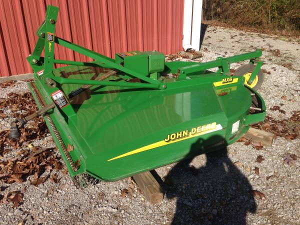 Photo John Deer MX6 Rotary Cutter - $2,650 (Hamilton, AL)