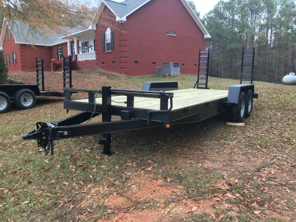 Photo New 20 foot equipment trailer - $3,700 (Fayette Alabama)