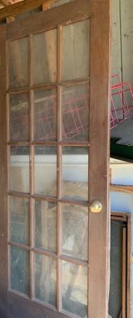 Photo Pair double French interior doors - $150 (Chelsea)