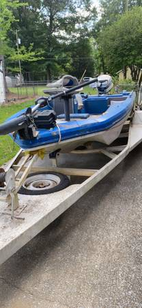 Photo Ranger Boat and Trailer - $850 (Bon Air)