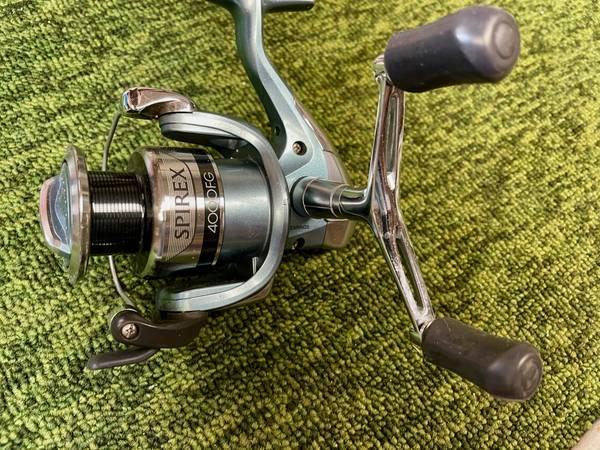 Photo Shimano Spirex 4000 Spinning reel, fishing - $45 (Hoover)